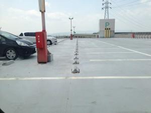 屋上での駐車