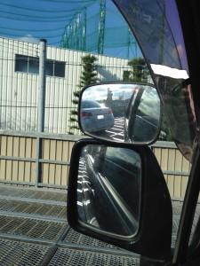 45度バック駐車